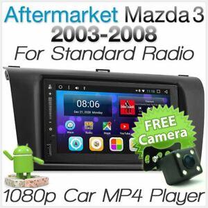 Android Car MP3 Player For Mazda 3 Mazda3 BK Radio Stereo Head Unit Fascia Kit A