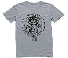 All Valley Karate Championship 1984 Cobra Kai Mens Cotton T-Shirt Cool. 80's Tee