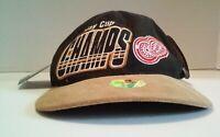 Vintage Detroit Red Wings 1997 NHL Stanley Cup Champ Starter Adjustable Hat Cap