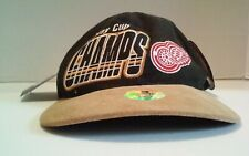 Vintage Detroit Red Wings 1997 NHL Stanley Cup Champ Starter Adjustable Hat Cap