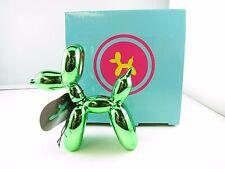 Balloon Dogs- Green Metallic finish/ Home decor/ Fine craft/ Perfect gift/