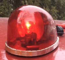 Rare Vintage Federal Signal FLASHBALL LIGHT See Video !