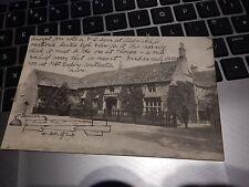 FOTHERINGAY  ANTIQUE POSTCARD CIRCA 1905