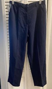Women's Blue IZOD Golf Pants Slacks Size 16. NWT