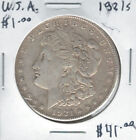 United States USA 1921s Silver Morgan Dollar