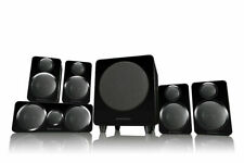 Wharfedale DX-2 5.1 Speaker Package Home Theatre Cinema Surround Black