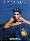 Publicité Advertising 1991 Parfum BYZANCE de ROCHAS ...