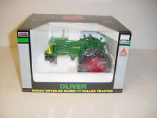 """1/16 Oliver Super 77 Narrow Front """"High Detail"""" Puller Tractor by Spec Cast NIB!"""