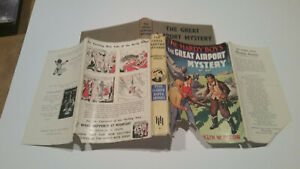 old HARDY BOYS MYSTERY STORIES The Great Airport Mystery FRANKLIN W DIXON hcdj