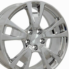 "19"" Wheels For Acura TL 2009 - 2014 Chrome Rims 19x8.0 5X120 Set (4)"