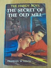 Hardy Boys Vintage Book #3 ~ The Secret Of The Old Mill Franklin W. Dixon HB #a3
