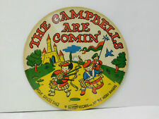 The Merry Singers (picture - cardboard disc) 78 The Campbells Are Comin'   VG+