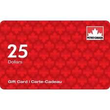 Petro Canada Gift Card $ 25