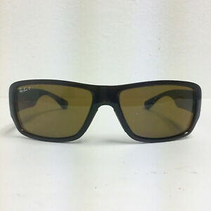 Preowned Ray Ban FRAME/RX Polished Brown Sunglasses FRAME ONLY RB4199 61mm