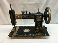 VINTAGE ANTIQUE 1900s NEW ROYAL  CAST IRON INDUSTRIAL SEWING MACHINE HEAD ONLY