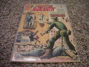 FIGHTIN' ARMY #105 (1972) Charlton Comics FN