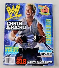 Chris Jericho December Holiday 2007 WWE Wrestling Magazine WWF John Cena Sex