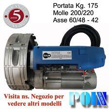 MOTORE PER SERRANDA SERRANDE ELETTRICA AUTOMATICA 200/60, 170 Kg.  SARACINESCA