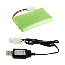 9,6 V 1800mAh Ni-CD-Akku u0026 USB-Ladegerät für Fernbedienung Spielzeug