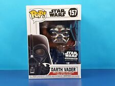 Black Chrome Darth Vader Funko Pop Star Wars Smugglers Bounty Exclusive