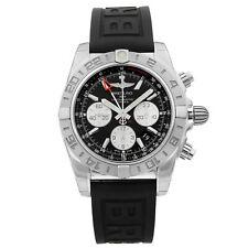 Breitling Chronomat 44 Acero Cuadrante negro Reloj Para hombres Automático AB042011/BB56-153S