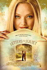 LETTERS TO JULIET Movie POSTER 27x40 Amanda Seyfried Christopher Egan Gael