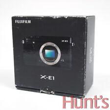 FUJI FUJIFILM X-E1 16.3MP MIRRORLESS DIGITAL CAMERA BODY (BLACK) ** NEW **