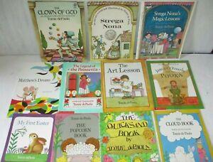 Tomie dePaola Picture Book Lot XMAS Lot Bundle Preschool Daycare
