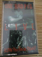 One Bad Pig LIVE Blow the House Down  RETRO cassette Tape