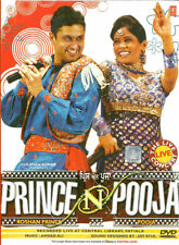 PRINCE N POOJA - NEW BOLLYWOOD LIVE CONCERT SONG DVD - FREE UK POST