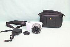 Sony Alpha NEX-3N 16.1MP Digital Camera - White  w/ OSS 16-50mm Lens