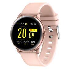 Smartwatch KW19 Bluetooth Notifications Cardio Multi Sport Footpod Calorie Pink