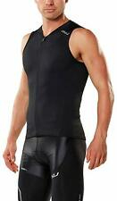 2XU Men's X-Vent Multisport Triathlon Tri Singlet Jersey