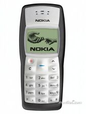 MINT NOKIA 1100 - Black - Unlocked Mobile Phone - UK warranty - Free Sim