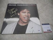 George Thorogood Bad To The Bone Signed Autographed LP Record PSA Certified