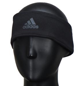 Adidas 2017 Climaheat Sports Band Headband Running Black Hairband GYM BR0741