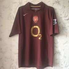 Arsenal England Home football shirt 2005 - 2006 Nike Soccer Jersey Size L