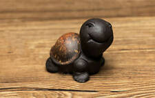 1pc China Yixing Handmade Purple Clay Tea Pet Small Tortoise