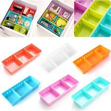 Adjustable Drawer Organizer Home Kitchen Board Divider Makeup Storage Box New