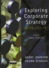 Exploring Corporate Strategy: Text and Cases,Gerry Johnson, Kevan Scholes