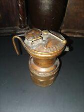 New listing Antique Autolite Carbide Mining Lamp Lantern Light no Reflector