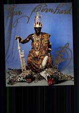 Togbe Cephas Kosi Bansah, König von Hohoe Gbi Foto Original Signiert ## BC 19834