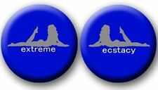 Blue Ecstasy Girl Headlight Covers Set Yamaha Banshee YFZ 350 & Warrior YFM 350