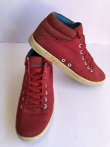 Gravis Womens Tasha Mid Skate Athletic Shoes US 9 Eur 40 Red Fast Shipping AUS