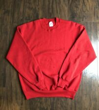 Vintage Blank Jerzees Crewneck Sweater Size Large