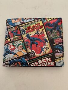 Official Marvel Comics Black Panther Bi Fold Wallet. ***Great Condition***