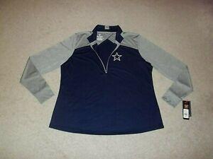 NWT Fanatics Dallas Cowboys Rookie Sensation Womens 3XL Pullover Light Jacket