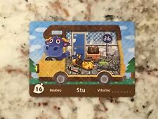 STU #16 Series 5 Animal Crossing New Leaf Welcome Amiibo Card In Mint Condition
