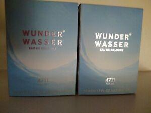 (GP: 100 ml /44,49€) Wunderwasser  4711 Eau de Cologne für Sie 2 x je 50 ml OVP