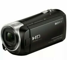 Sony Handycam HDR-CX440 8GB Wi-Fi 1080p HD Video Camcorder, EXTRA ACCESSORIES.
